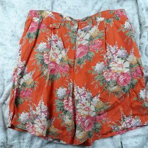 Lauren Ralph Lauren| Floral Linen Shorts